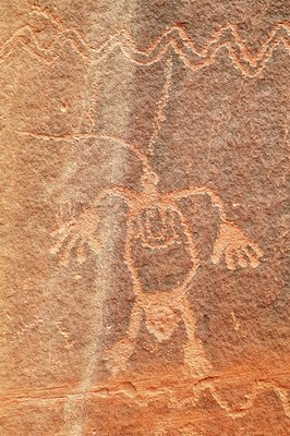 Petroglyphs, Monument Valley Navajo Tribal Park, USA