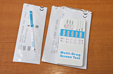 Urine multi-drug test kit