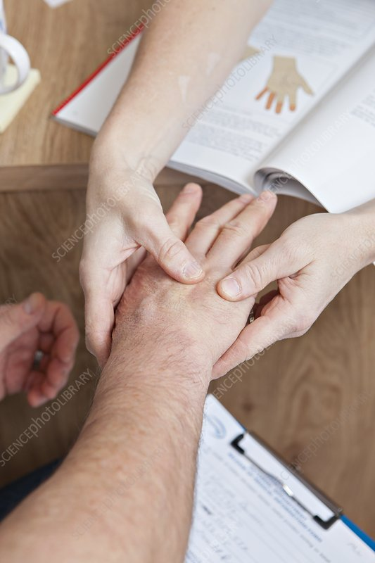 Carpal tunnel syndrome examination