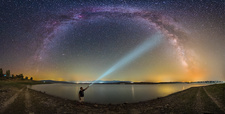 Shining light on the Milky Way