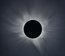 Total solar eclipse, corona at totality