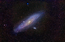 Andromeda Galaxy, optical image