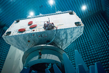 BepiColombo orbiter tests in radio anechoic chamber