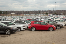 Volkswagen emissions buyback cars in storage