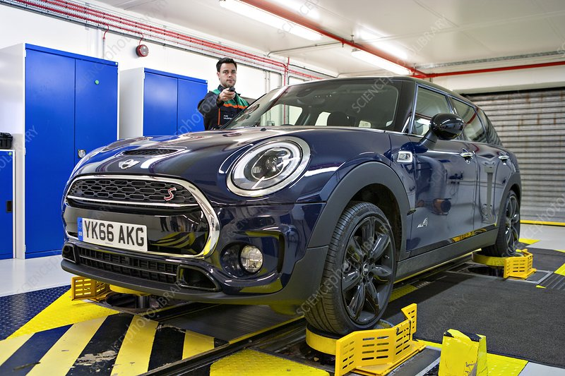 Mini car factory, UK