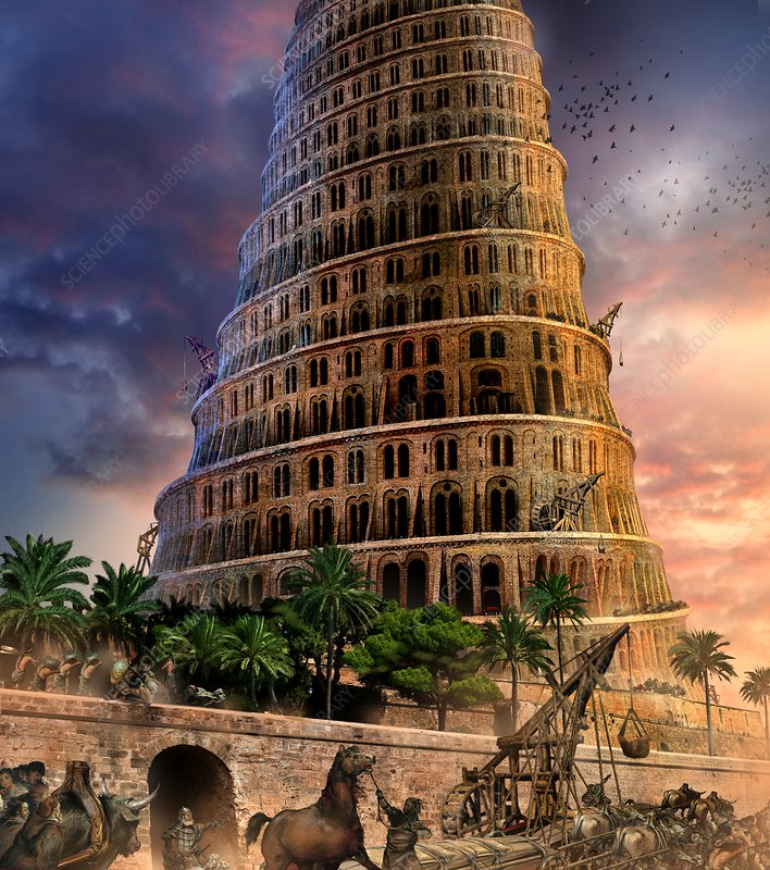 Tower of Babel, illustration