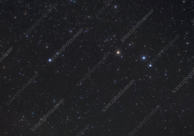 Aries constellation, optical image