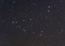 Capricornus constellation, optical image