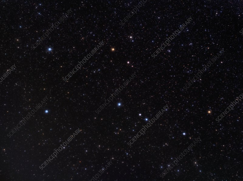 Pegasus constellation, optical image