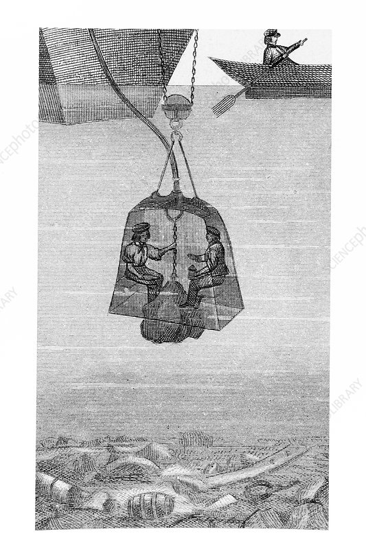 Diving bell, 19th century