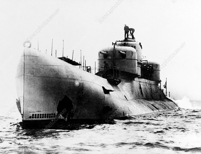 HMS X1 submarine, 20th century