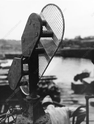 Japanese submarine radar antenna, World War II