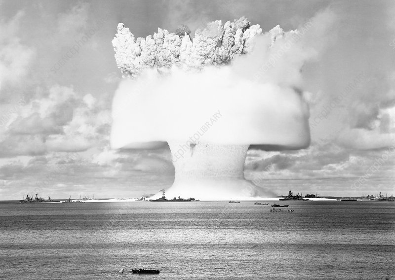 Operation Crossroads atom bomb test, 1946