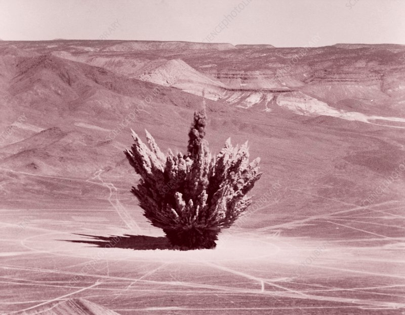 Nevada Test Site explosion, 1956