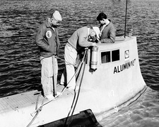 Aluminaut research submarine, 1966