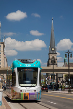 City centre tram, Detroit