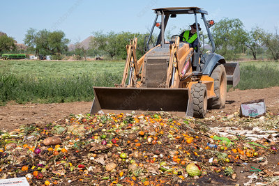 University food waste composting program, Tucson, USA