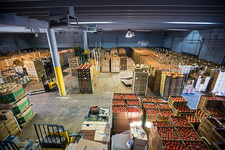 Food bank warehouse, USA