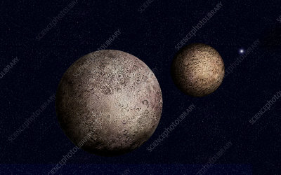 Pluto, illustration