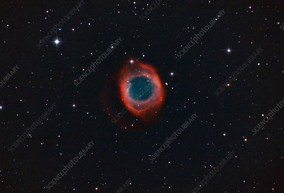 NGC-7293, The Helix Planetary Nebula in Aquarius