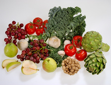 Healthy Food, Fruits and Vegetables