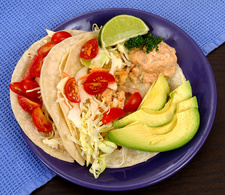 Healthy Food, Fish Tacos