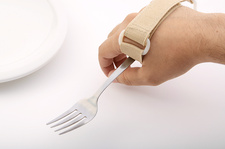 Hand Holding Eating Assist Device, Fork