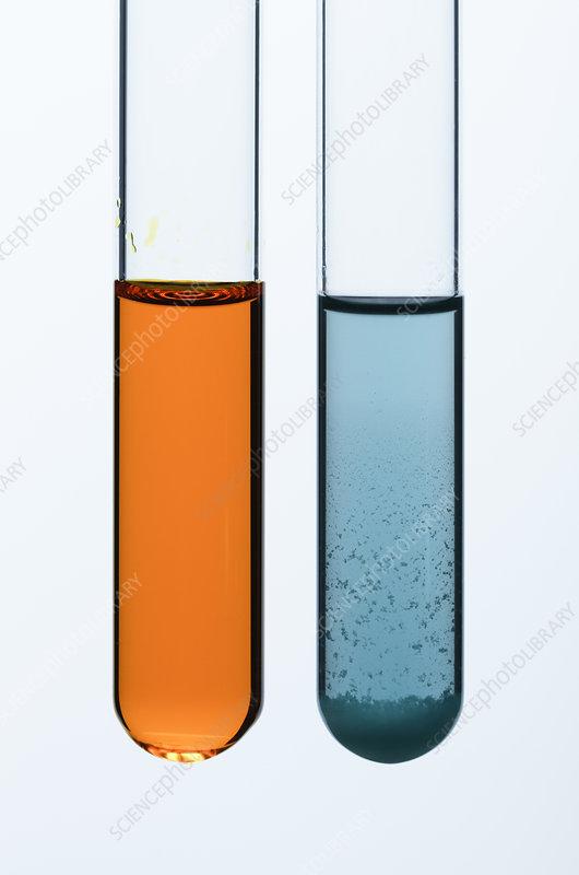 Methanol oxidation - Stock Image - C036/3150 - Science Photo Library