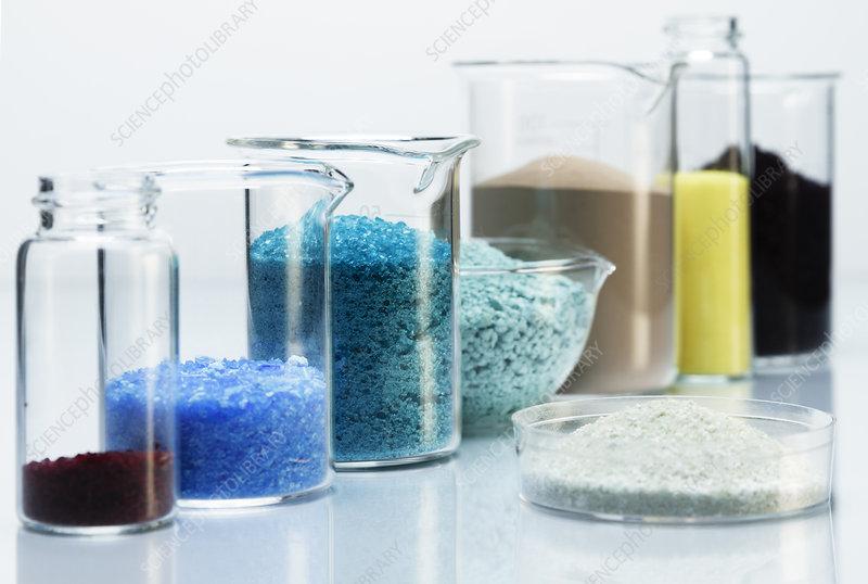 Transition metal salts