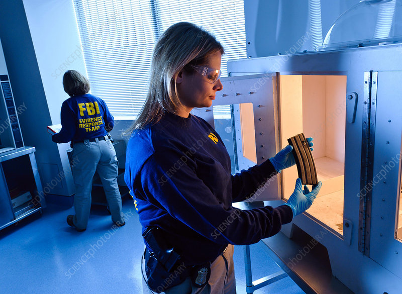 FBI ERT Agents Work with Latent Prints, 2012