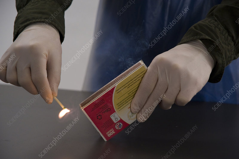 Chemical Reaction, Striking a Match