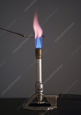 Flame Test for Potassium
