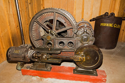 1870's Mine Hoist Engine
