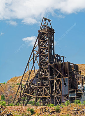 Historic Independence Gold Mine
