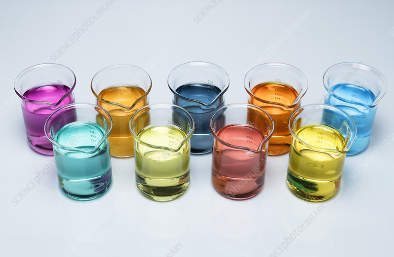 Transition metal solutions