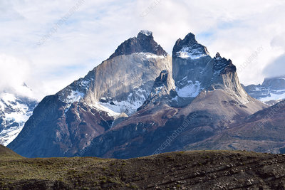 Horns of Torres del Paine, Patagonia