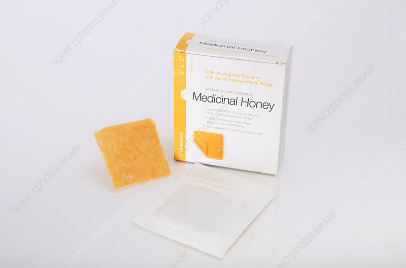 Medicinal Honey, Calcium Alginate Dressing