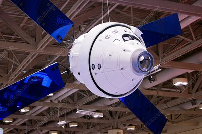 Orion spacecraft model