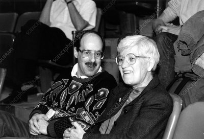 Frederick Lamb and Vera Rubin, US astrophysicists