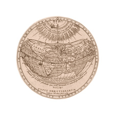 World map, 1589