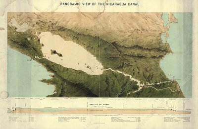 Nicaragua Canal, 1870s