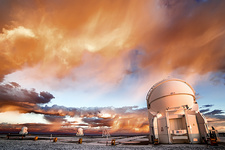 VLT auxiliary telescopes, Paranal Observatory, Chile
