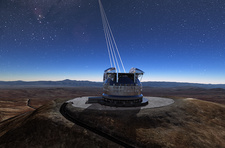 European-Extremely Large Telescope, illustration