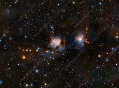 Reflection nebula M78, VISTA image
