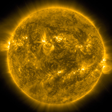 The Sun, SDO image