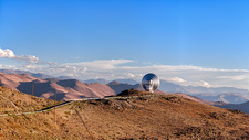 Swedish-ESO Submillimetre Telescope, Chile