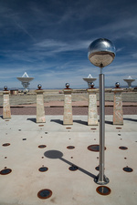 Bracewell Sundial at Very Large Array, USA