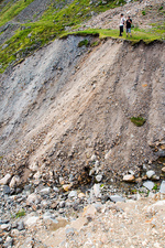 Erosion, Mines Gill, Lake District, UK