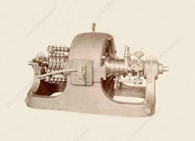 Westinghouse rotary transformer
