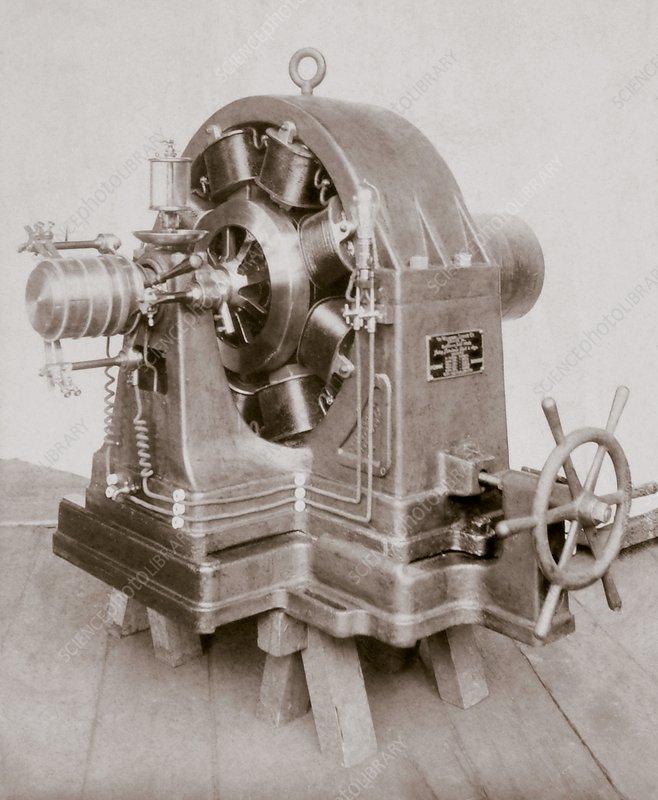 Tesla's constant potential dynamo - Stock Image - C036/8332